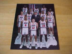 Chuck Daly 1992 Team USA Basketball Gold Medal 8X10 Photo FREE SHIPPING 3/more