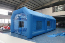 8*4*3m Inflatable Car Tent Spray Booth Paint Custom Mobile Work Station Car