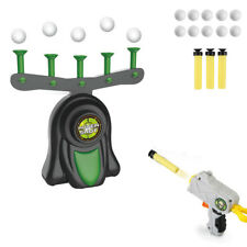 Electric Hover Game Shooting Floating Target w/ Toy Gun + Safe Foam Balls Gift