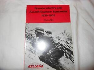 German Infantry and Assault Engineer Equipment 1939-1945 by Chris Ellis, 1976, u