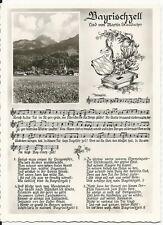 Postal Bayrischzell-canción de Martin staudacher-negro/blanco