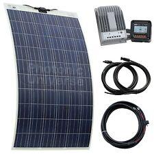 250W semi-flexible solar charging kit for motorhome, caravan, boat, rv, yacht