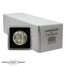 25 - Guardhouse 2x2 Tetra Plastic Snaplocks Coin Holders for Half Dollars