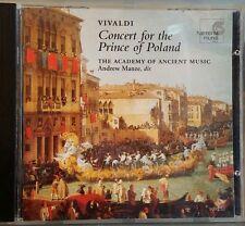 Harmonia Mundi Vivaldi Concert for Prince Poland AAM Manze HIP Violin Concertos