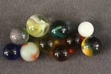 Vintage Toy Lot 1940-50s Multi Color Patch Glass & Small Size Marbles