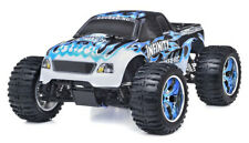 1/10 2.4G Exceed Rc Radio Infinitive Nitro Gas Rtr Monster 4Wd Truck Fire Blue