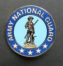 US ARMY NATIONAL GUARD LARGE LAPEL HAT PIN BADGE 1.5 INCHES