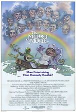 THE MUPPET MOVIE Movie POSTER 27x40 B CAMEO(S) Edgar Bergen Milton Berle Mel