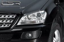 W164 EYELIDS EYEBROWS MERCEDES ML320 ML350 ML500 ML63 spoiler headlight amg