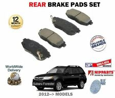 FOR SUBARU FORESTER 2.0DT 2.0i 2012-->NEW REAR BRAKE DISC PADS SET