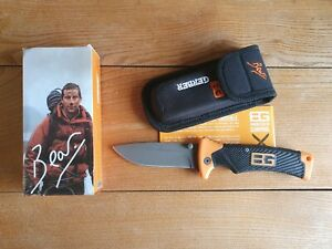 Bear Grylls Gerber Scout Messer Outdoor Jagdmesser Gürtelmesser Survival Säge