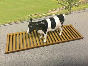 Woody Farm Building single cattle slat 1:32, Farm buildings pack of 6