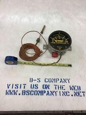 "Westinghouse Liquid Temperature Switch Gauge 0-120°C W/ 5.5"" Dos plans & Sensor"