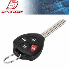 for Toyota 2008 2009 2010 Corolla Keyless Entry Remote Car Key Fob for GQ4-29T