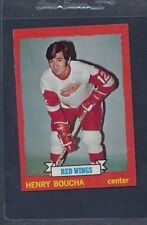 1973/74 Topps #033 Henry Boucha Red Wings NM *104