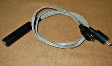 Kopfhörer Adapter DIN Lautsprecherstecker auf 6,3 Klinke UHER PHILIPS Saba u.a.
