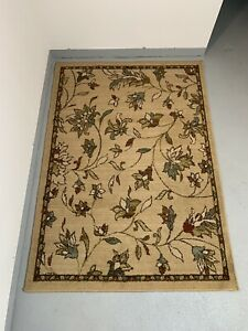 Emerson by Oriental Weavers. Transitional Floral Area Rug. Gold/Brown/Blue 1994A
