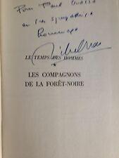 Les Compagnons De La Forêt Noire de Michel DROIT/1966 dédicace