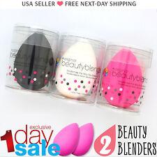 2x Original Beauty Blender Makeup Sponge Applicator | Latex Free | BLACK [2PCS]