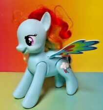 2013 My Little Pony Flip and Whirl Rainbow Dash Pony Pet MLP Works Good Sound