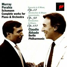 Schumann: Complete Works for Piano & Orchestra Perahia Abbado Berlin Phil Orch