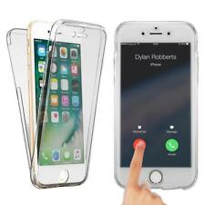 Protector De Silicona a Prueba de Golpes 360 ° Transparente Estuche Cubierta para diversos teléfonos móviles