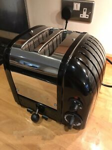 Dualit 2 Slice Black & stainless steel Toaster