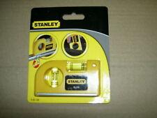 Stanley 042130 Magnetic Horizontal/ Vertical Pocket Level 0-42-130 brand new
