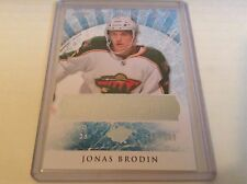 12-13 2012-13 ARTIFACTS JONAS BRODIN ROOKIE REDEMPTION /699 RED236 WILD