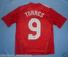 LIVERPOOL FC / 2010-2011 EUR Home TORRES #9 - ADIDAS - Shirt / Jersey. 152cm 12y