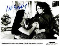 """Exotica"" Mia Kirshner Hand Signed 10X8 B&W Photo Todd Mueller COA"