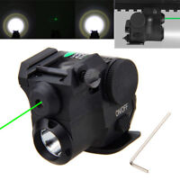 532nm Hunter Air Rifle Laser Torch Set Green Laser&Flashlight Sight F/20mm Rifle