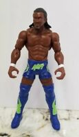 2013 WWE/WWF Mattel KOFI KINGSTON w/ Action Feature-Action Figure