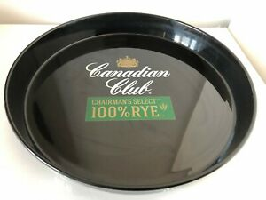 Canadian Club Chairman's Select Rye Plastic Bar Tray