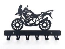 bike BMW R1 200 GS Motorcycle gift Hanger Metal Art Storage Home Decor Wall Rack