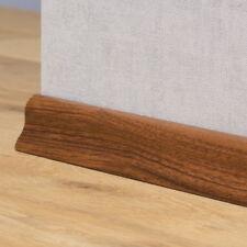 Sockelleisten / Laminat / Parkett - 40mm Classic - Nussbaum Dunkel