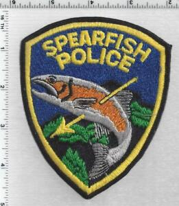 Spearfish Police (South Dakota) 3rd Issue Shoulder Patch