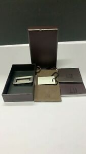 DUNHILL STERLING SILVER MONEY CLIP