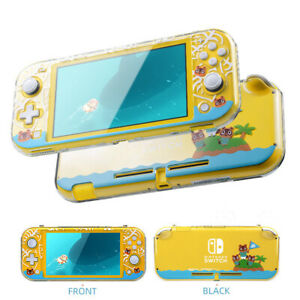 For Nintendo Switch Lite Protective Case Cover Animal Crossing Thumb Grip Caps
