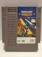 Bionic Commando Nintendo NES Vintage classic original retro game cartridge