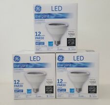 x3 GE GL42131 LED 12watt 120volt PAR30 Medium Screw E26 Base Flood Light Bulb