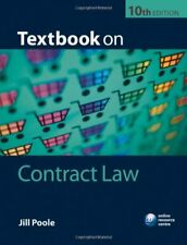 Textbook on Contract Law,Jill Poole- 9780199574360