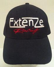 ExtenZe Racing Male Enhancement Pills Embroidered Black Adjustable Hat NASCAR