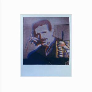 color polaroid photo of street artwork.