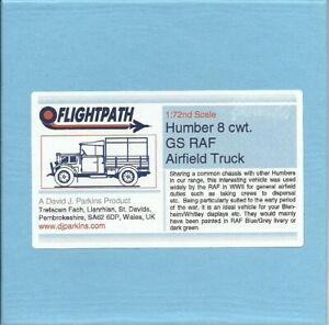 Flightpath UK 20mm (1/72) Humber 8cwt General Service RAF Airfield Truck