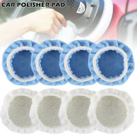 8pc 150mm Car Polisher Bonnets Polishing Pad Buffer 5 6 inch Waxing Wash Wool