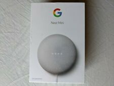 Google Nest Mini (2nd Generation) Smart Speaker - Sealed, NEW, Chalk