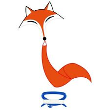 Einleiner Drachen Kinderdrachen HQ Fox Kite Fuchs Drachen Flugdrachen