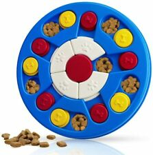 Dog Puzzle Toys Puppy Interactive Puzzle Game Dog Toy Higher Level-Navy