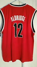 Adidas NBA Jersey Portland Trailblazers LaMarcus  Aldridge  Red sz L